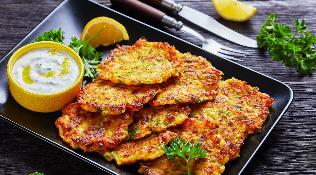 Curry Vegetable Latkes